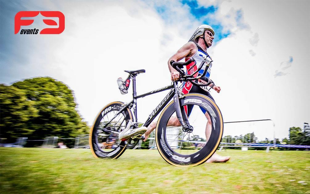 Fugitive Sprint \u0026 Olympic Distance Triathlon - cover image