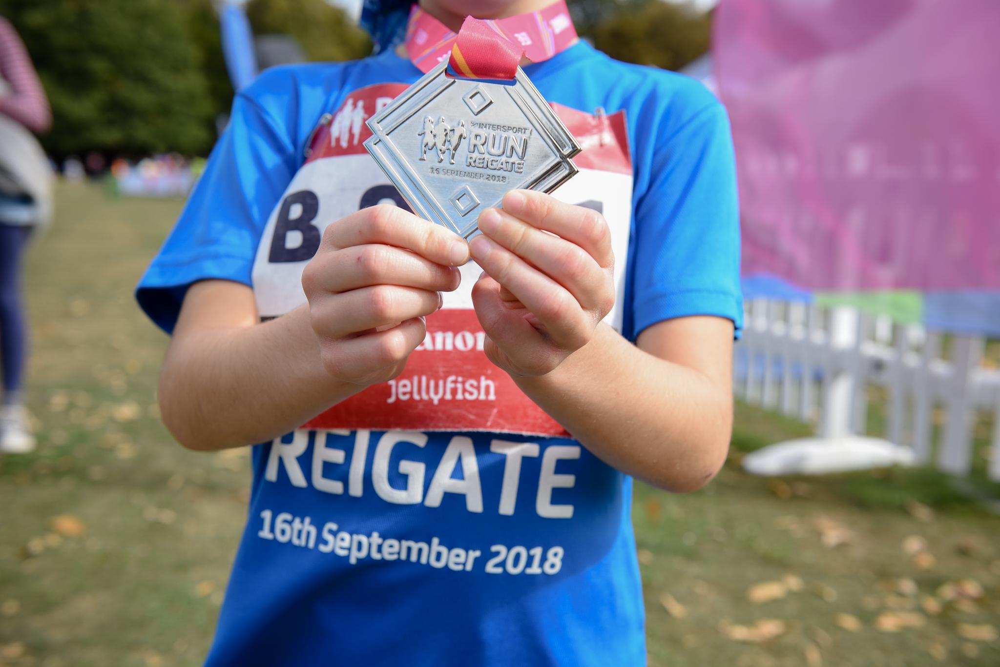 Run Reigate \u002D Canon Kids Race - cover image