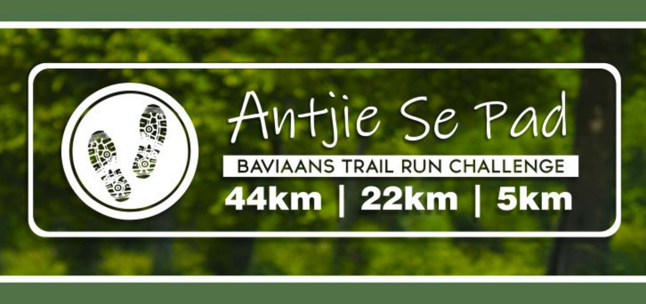 Antjie Se Pad Baviaans Trail Run Challenge - cover image