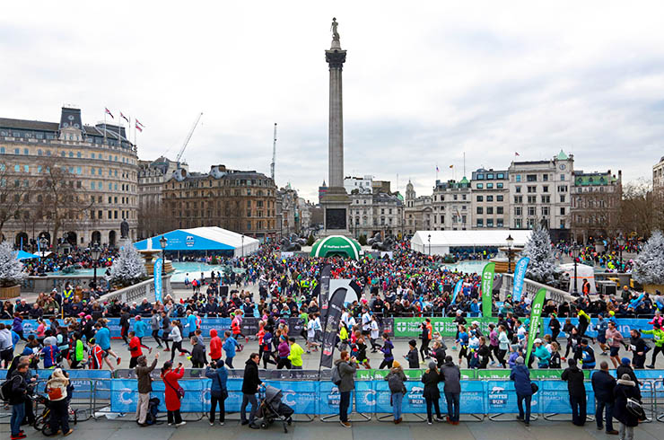 Cancer Research UK London Winter Run - 2020 Image 1