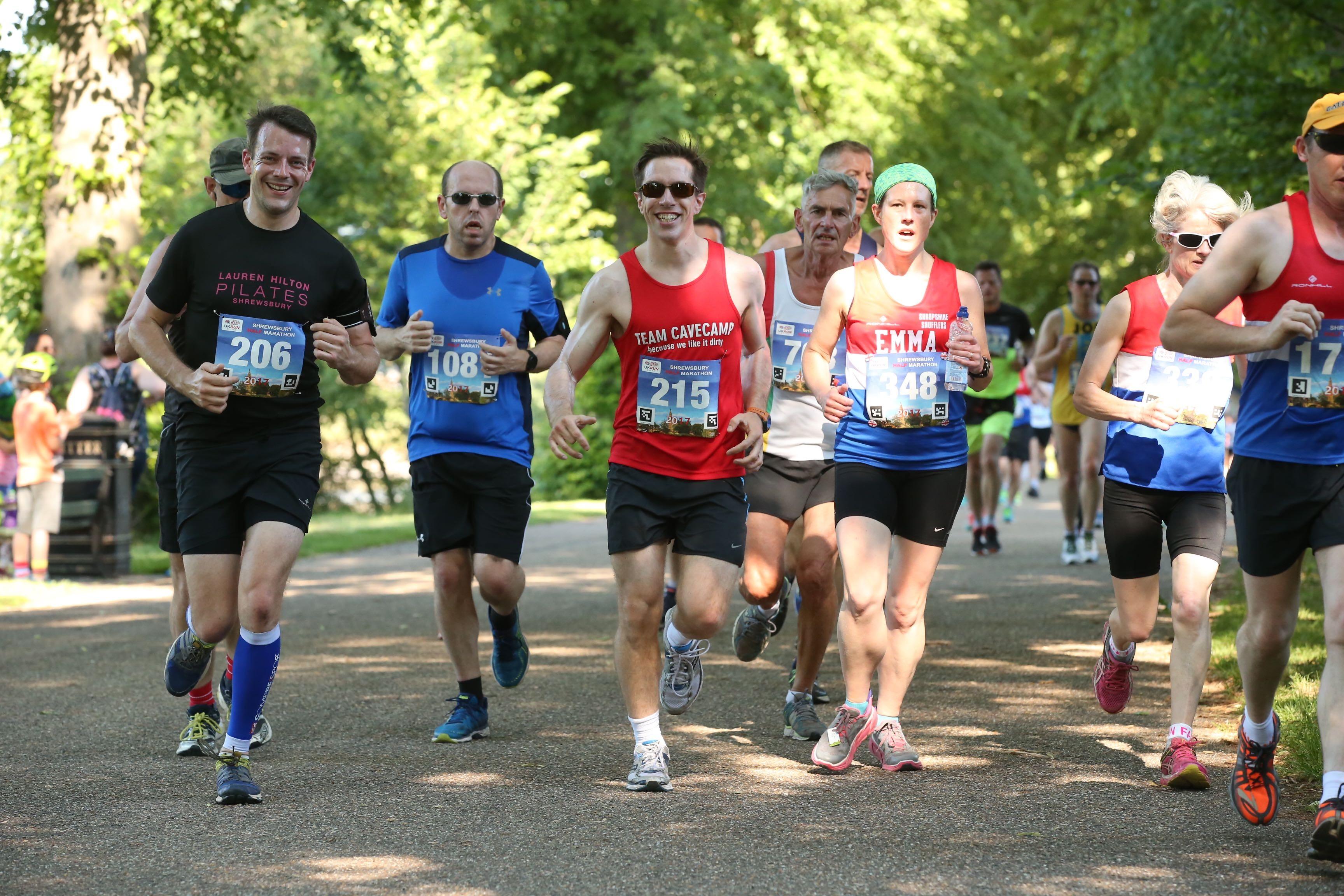 On Shrewsbury Half Marathon - cover image