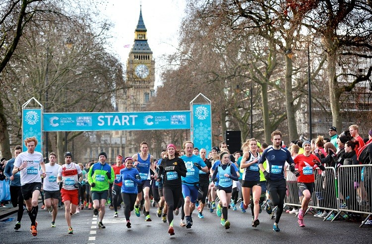 Cancer Research UK London Winter Run - cover image