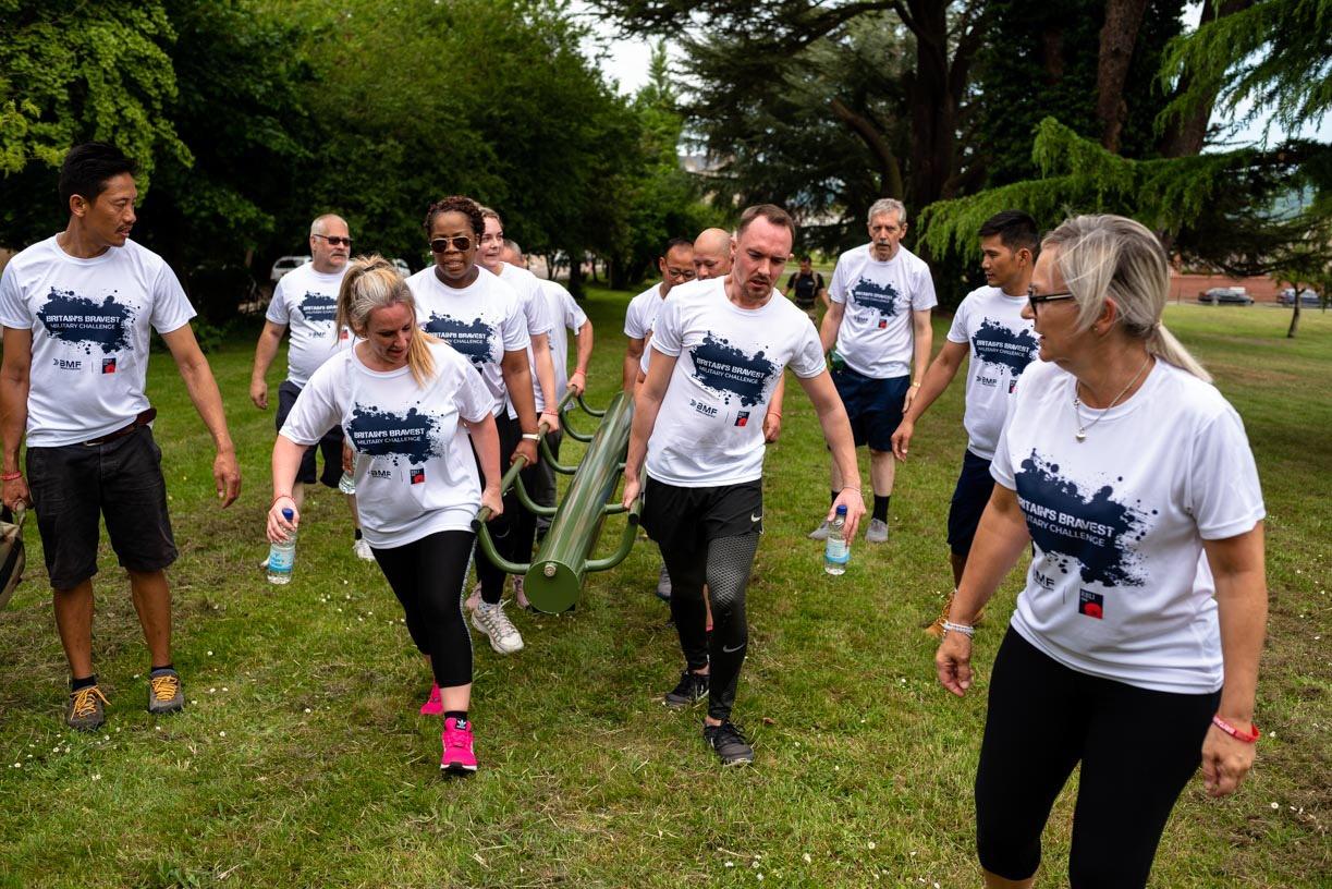 Britain\u0027s Bravest Military Challenge \u002D London Richmond Park - cover image