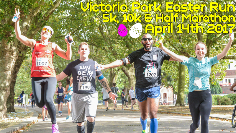 RunThrough Victoria Park Race \u002D April - cover image