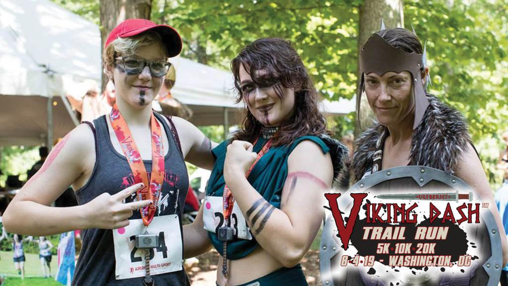 Viking Dash Trail Run \u002D D.C. - cover image