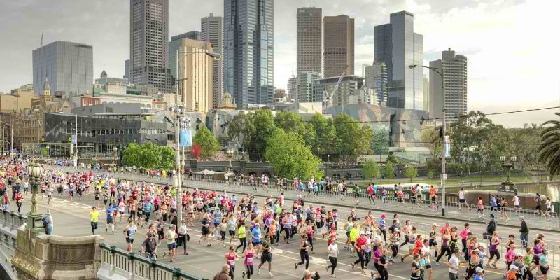 Melbourne Marathon - cover image