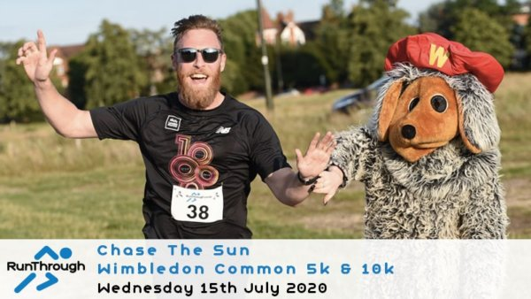 RunThrough Chase the Sun Wimbledon Common 5k \u0026 10k \u002D July - cover image