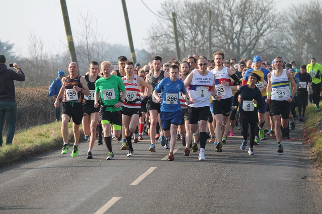 The Oundle 20 Mile Road Race - cover image