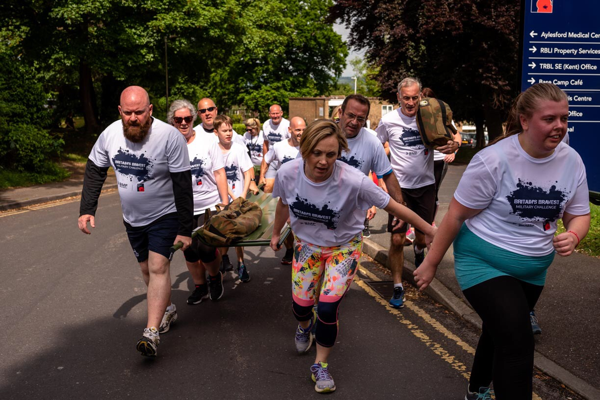 Britain\u0027s Bravest Military Challenge \u002D Leeds Roundhay Park - cover image