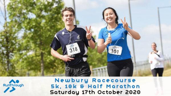 Newbury Racecourse 5k, 10k \u0026 Half Marathon \u002D October - cover image