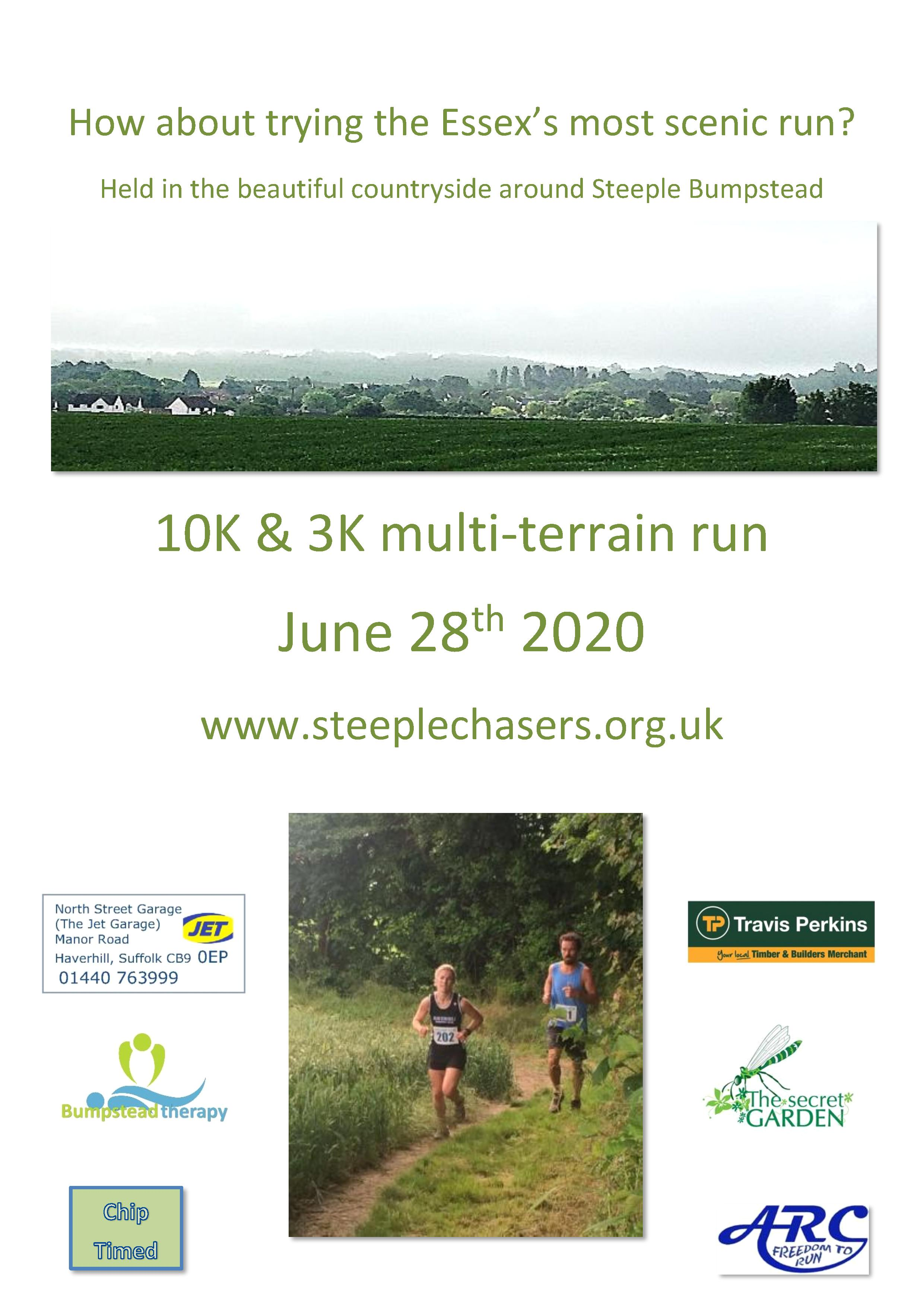 Steeple Bumpstead 10K and 3K Runs - cover image