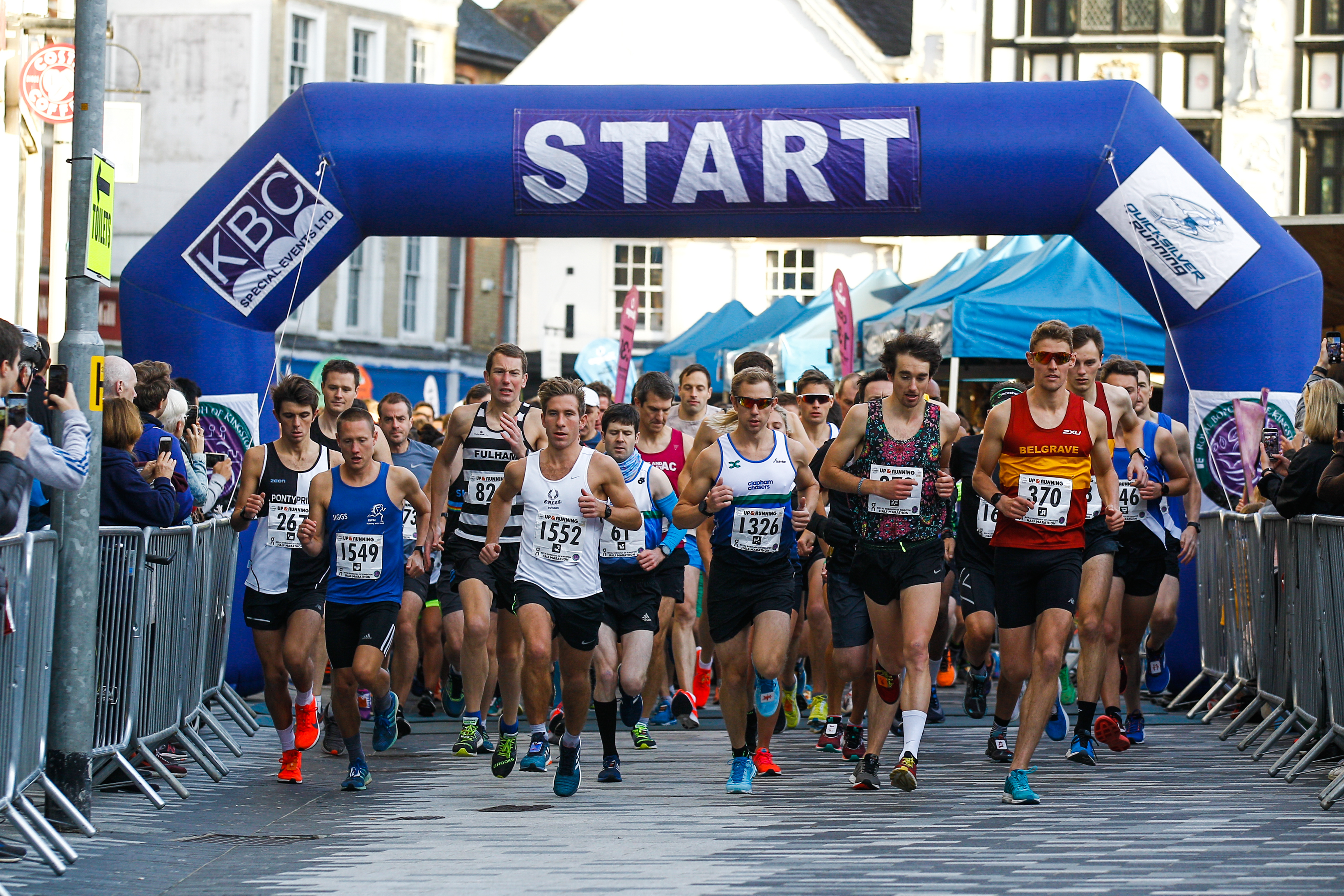 The Royal Borough of Kingston Half Marathon - cover image