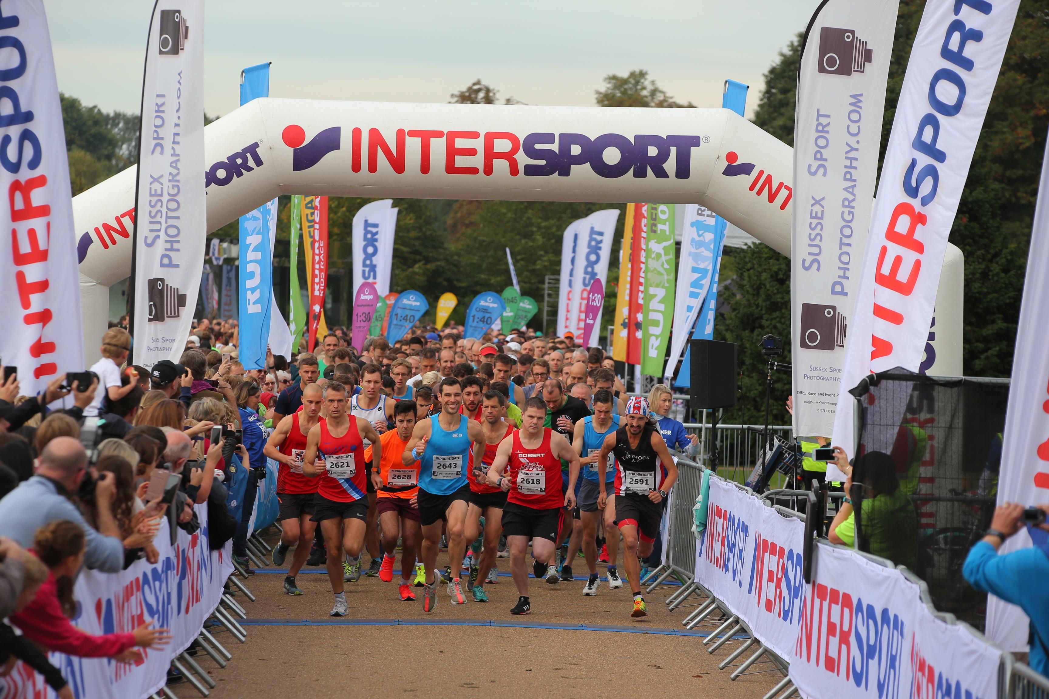 Intersport Run Reigate Half\u002DMarathon, 10K, 5K - cover image