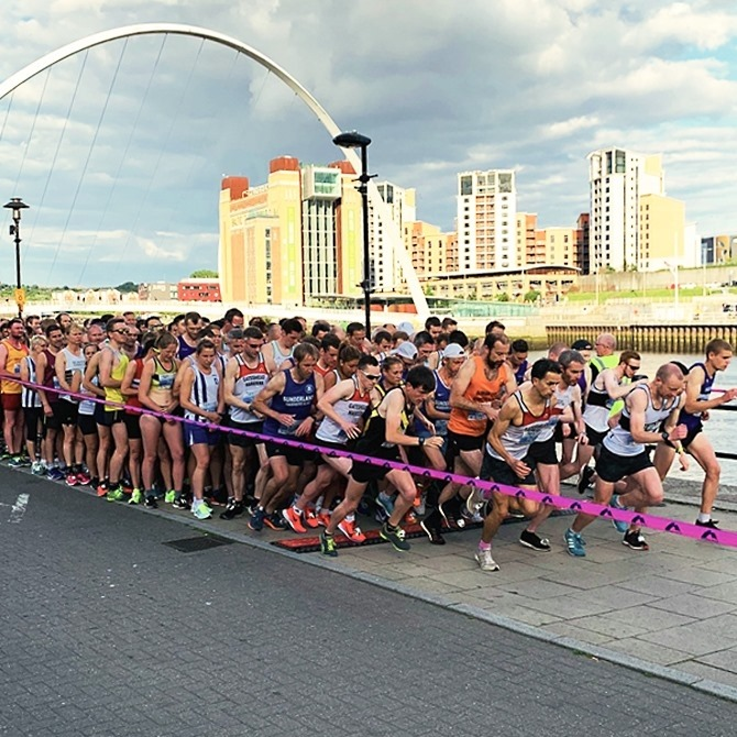 Bridges of The Tyne 5 Mile Road Race - cover image