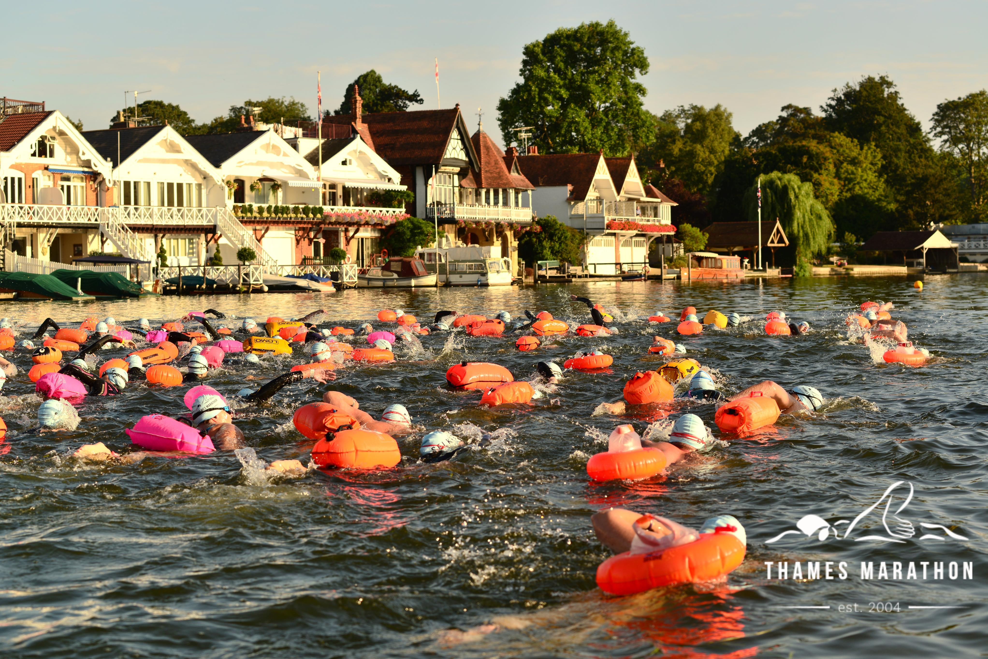 Thames Marathon Swim - cover image