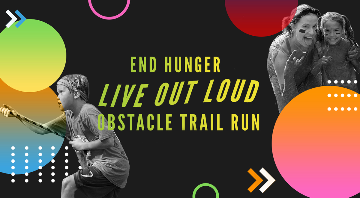 Live Out Loud End Hunger Obstacle Trail Run - cover image