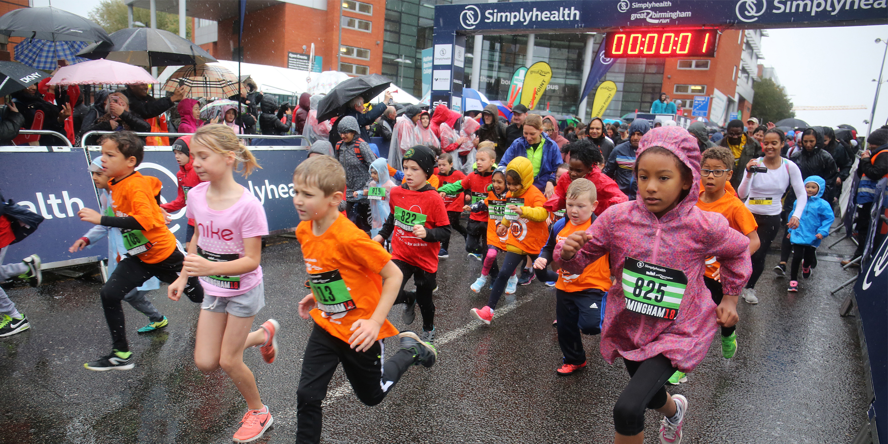 Great Birmingham Run \u002D Junior and Mini - cover image