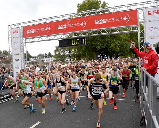 Ikano Bank Robin Hood Half Marathon - cover image
