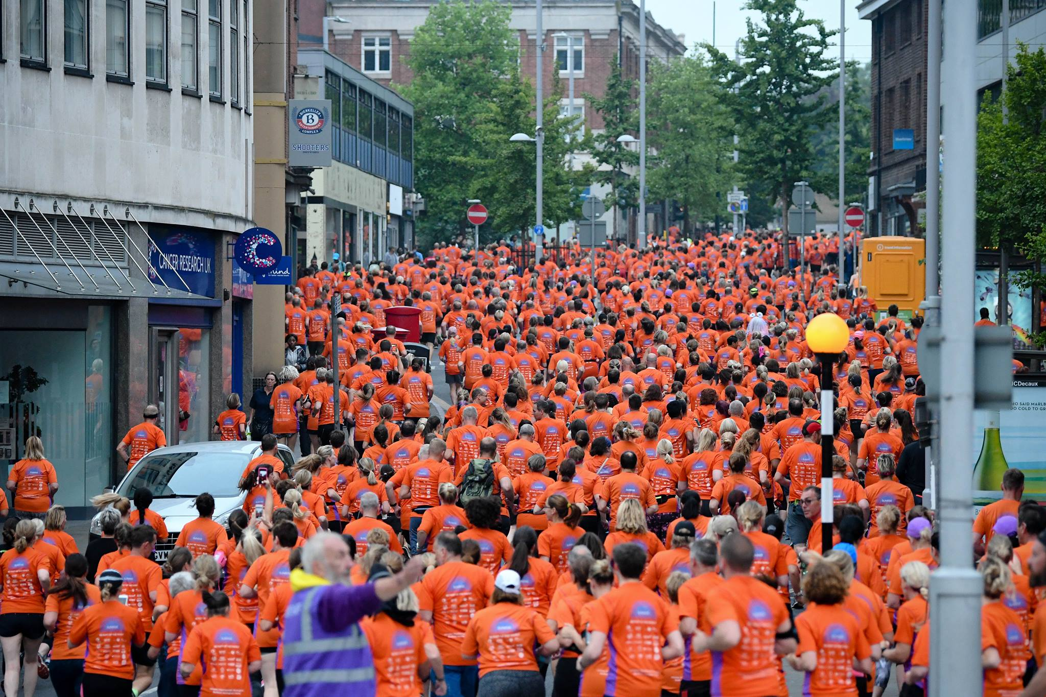 Sunrise City 5k Nottingham (July) - cover image