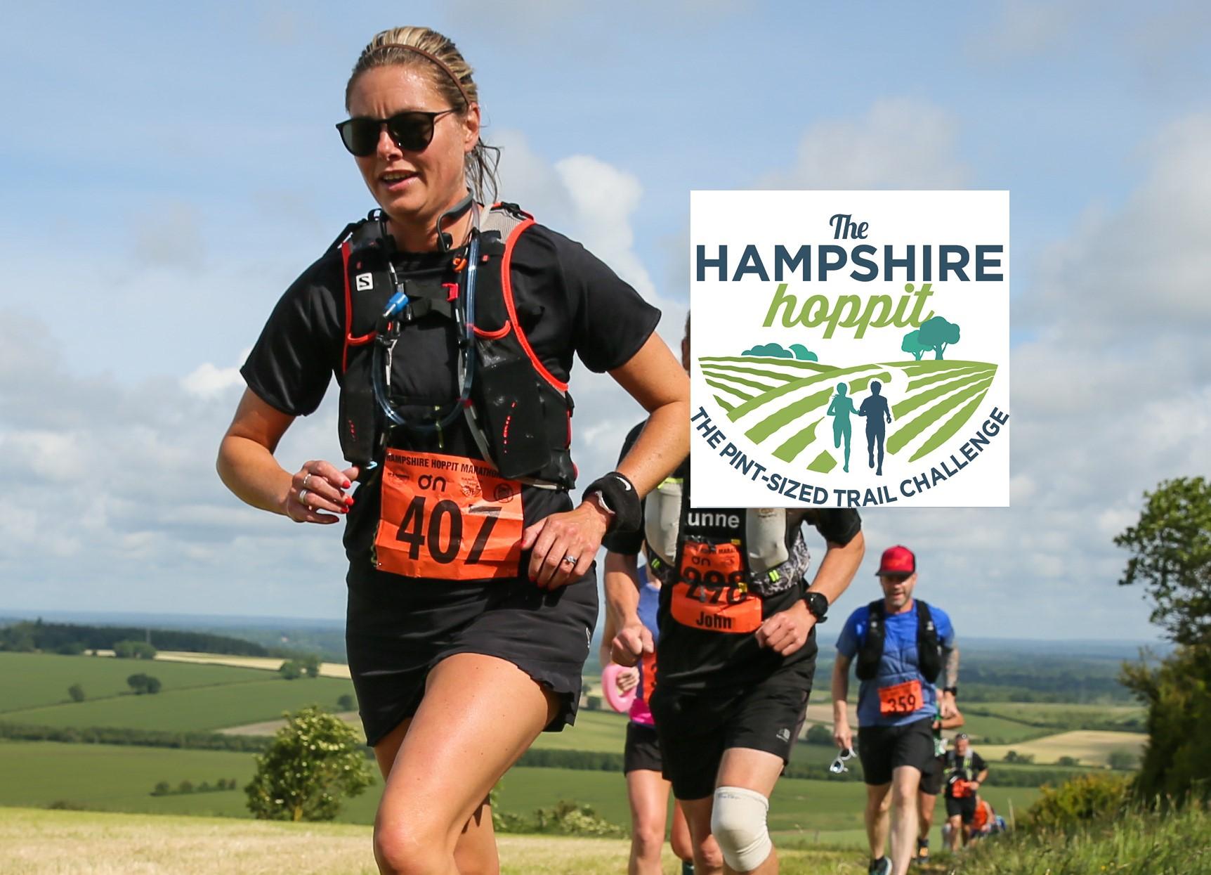 The Hampshire Hoppit Trail Marathon - cover image