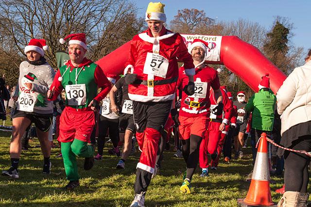 Watford Mencap Santa Dash - cover image