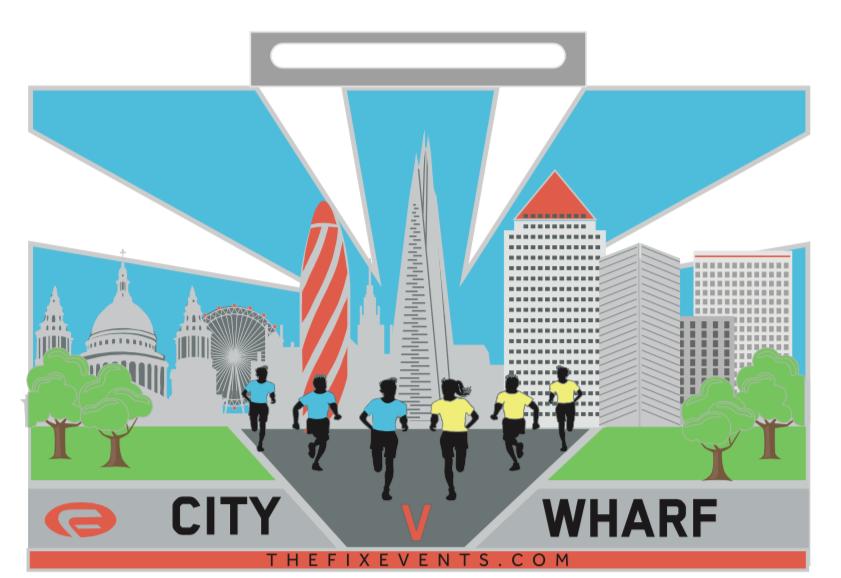 City vs Wharf Corporate 5K Run Challenge - cover image
