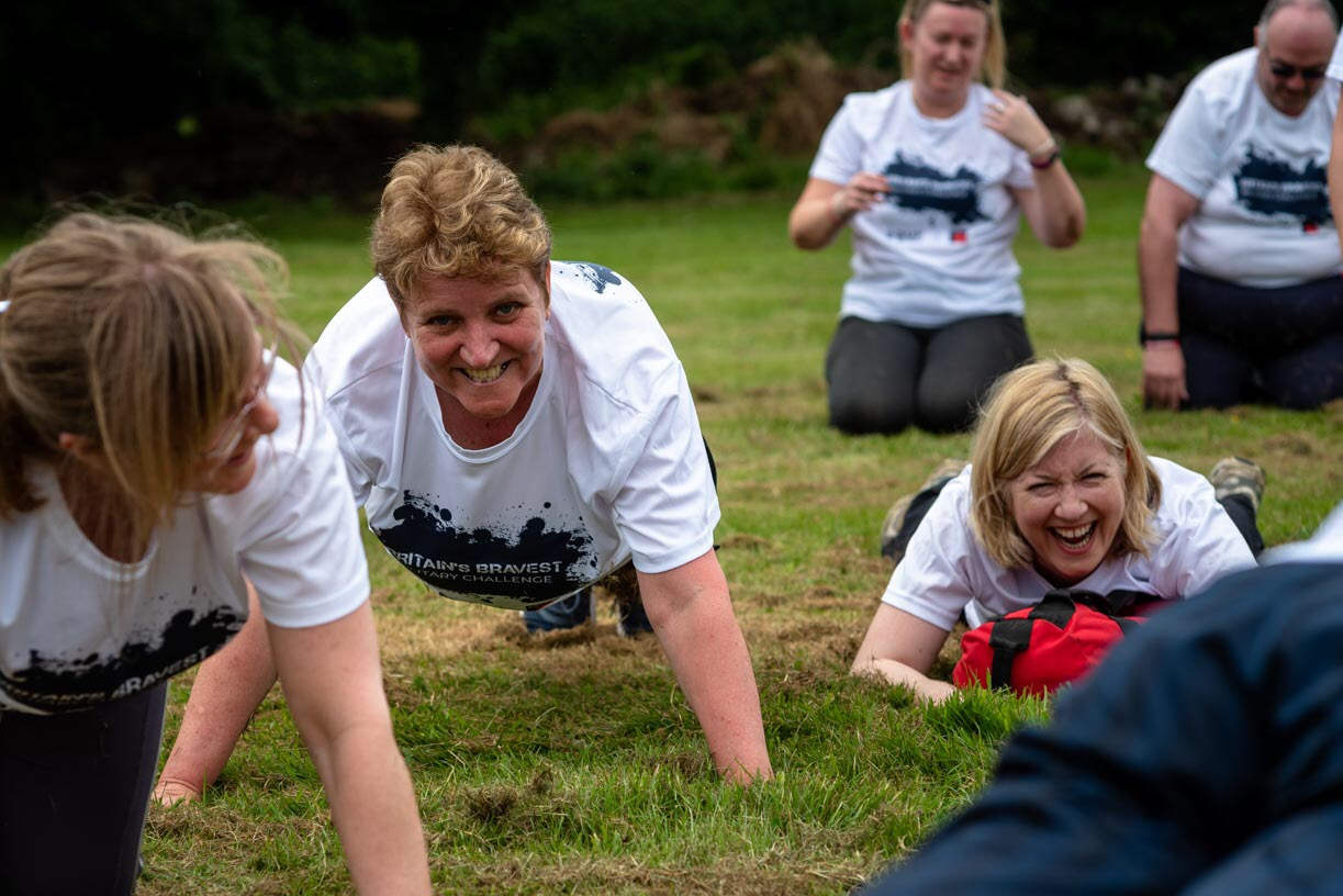 Britain\u0027s Bravest Military Challenge \u002D Bristol Clifton Downs - cover image