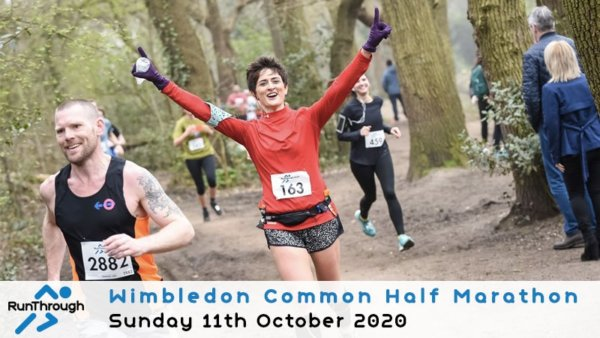 RunThrough Wimbledon Common Half Marathon \u002D October - cover image