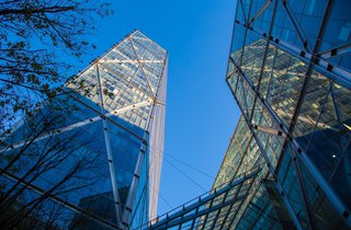 The Broadgate Tower Run Up