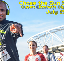 RunThrough Chase the Sun Olympic Park - July