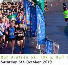 RunThrough Aintree 5k, 10k & Half Marathon - October