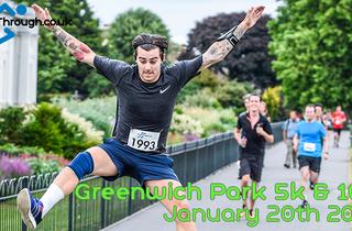 RunThrough Greenwich Park 5k & 10k - January