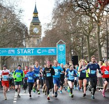 Cancer Research UK London Winter Run