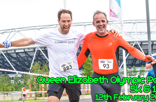 RunThrough Queen Elizabeth Olympic Park 5k & 10k - February