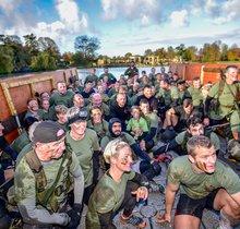 Commando at Hever Castle