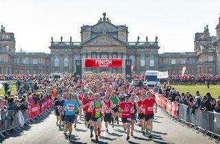 BHF Blenheim Palace Half Marathon,  10K and 2K