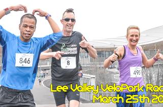 RunThrough Lee Valley VeloPark - March
