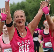 Race for Life - Cheshire Delamere Forest