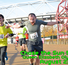 RunThrough Chase the Sun Olympic Park - August
