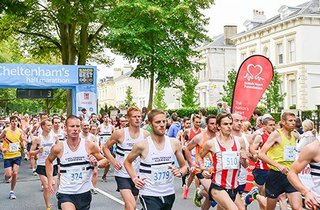 Cheltenham's Half Marathon