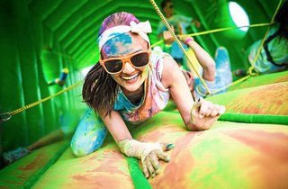 Color Obstacle Rush London 5K
